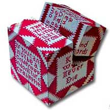 Pieties Quilt Art Cube from the Museum of American Folk Art