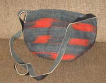 African Sisal Basket Shoulder Bag